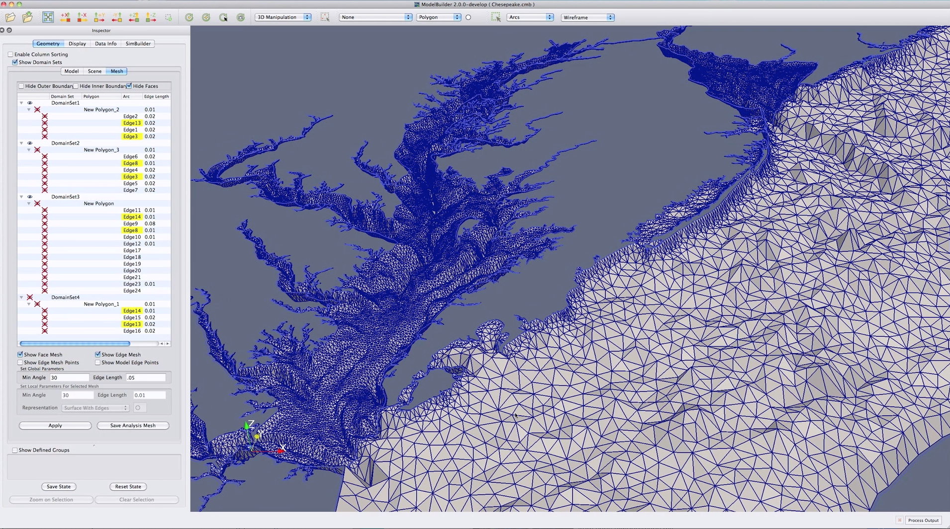 Chesapeake Surface Model